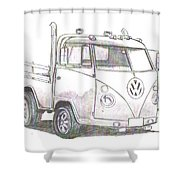 Vw-021 Shower Curtain