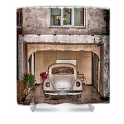 Vw Beetle Shower Curtain