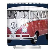 Vw Bus Shower Curtain