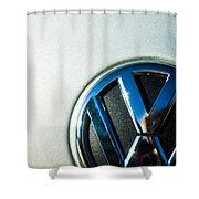 Vw Logo Shower Curtain