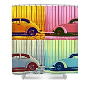 Vw Pop Autumn Shower Curtain