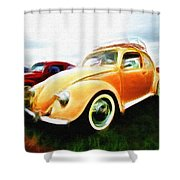 Vw Type 1 Shower Curtain