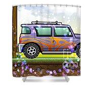 vw Shower Curtain