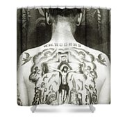 W H Rogers Clarksville Tennessee Shower Curtain