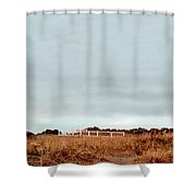 Wa State Lighthouse Shower Curtain