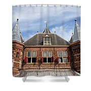 Waag In Amsterdam Shower Curtain
