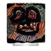 Wacadoodle Mask 218 Shower Curtain