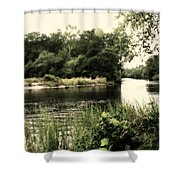 Waccamaw River Shower Curtain