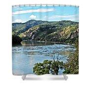 Wachau Valley Shower Curtain