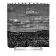 Wachusett Mountain Bw Shower Curtain