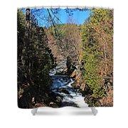 Wachusett Reservoir Spillway 2 Shower Curtain