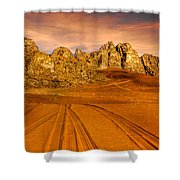 Wadi Rum Jordan Shower Curtain