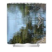 Wading Bird Shower Curtain
