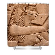 Wadjet Shower Curtain