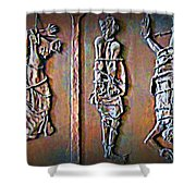 Wages Of Sin Shower Curtain by John Malone