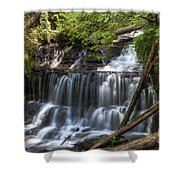 Wagner Falls Shower Curtain