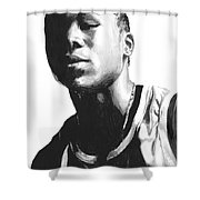 Wagner Shower Curtain by Tamir Barkan