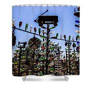 Wagon Shower Curtain