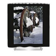 Wagons West Shower Curtain