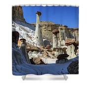 Wahweap Hoodoos Utah Shower Curtain