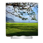 Waiahole Oahu Hawaii Shower Curtain