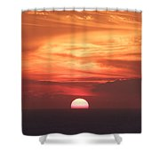 Waikiki Sunset No 2 Shower Curtain