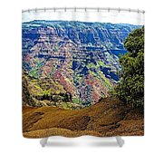 Waimea Canyon - Kauai Shower Curtain
