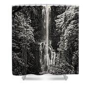 Wailua Falls 3 Shower Curtain