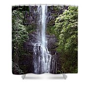 Wailua Falls Maui Shower Curtain