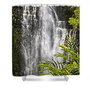 Wailua Waterfall Shower Curtain