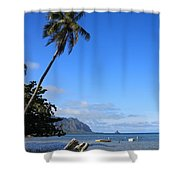 Waimanalo Beach  Shower Curtain
