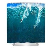Waimea Bay Giant Shower Curtain