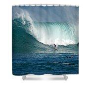 Waimea Bay Monster Shower Curtain