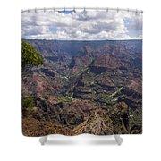Waimea Canyon 5 - Kauai Hawaii Shower Curtain