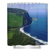 Waipio Valley Shower Curtain