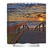 Wait At Our Spot Shower Curtain