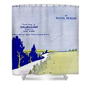 Waiting At The End Of The Road Shower Curtain