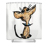 Waiting For My Forever Home Shower Curtain