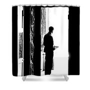 Waiting For Souls Shower Curtain