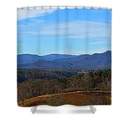 Waiting For Winter In The Blue Ridge Mountains Shower Curtain