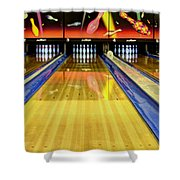 Waiting For You In The Alley Shower Curtain by Bob Christopher
