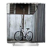 Waiting On A Rider Shower Curtain