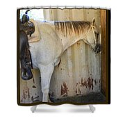 Waiting To Ride Shower Curtain