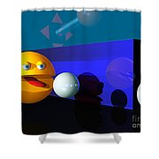 Waka Waka Waka Shower Curtain