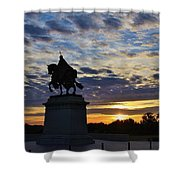 Wake Up St. Louis Shower Curtain