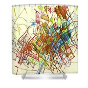 Wakeful Reticence Shower Curtain
