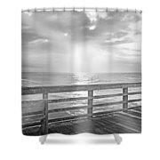 Waking Coast Shower Curtain