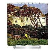 Waldport Beach House Shower Curtain