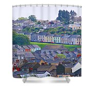 Wales Panorama Shower Curtain