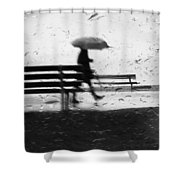 Walk Continued  Shower Curtain